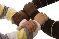 équipe multiraciale Photo stock