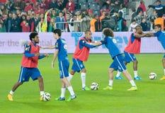 Équipe nationale du Brésil Images stock