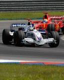 Équipe Nick Heidfeld F1.07 Allemagne sept de BMW Sauber F1 Photos stock