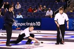 équipe olympique s'enroulante Etats-Unis des hommes s Image stock