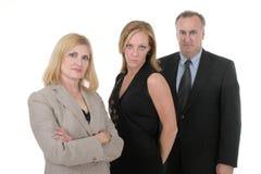 Équipe pour trois personnes 4 d'affaires Photos libres de droits
