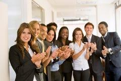 équipe réussie d'affaires Image stock