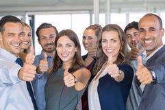 Équipe réussie d'affaires image libre de droits