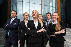 Équipe réussie d'hommes d'affaires Images stock