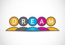 Équipe rêveuse Images libres de droits