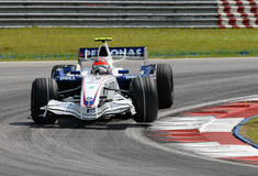 Équipe Robert Kubi de BMW Sauber F1 Photos libres de droits