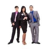 Équipe sérieuse d'affaires Images stock