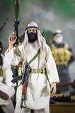 Équipe Talibun de nombre d'actions de soldat d'homme de jouet Photographie stock libre de droits