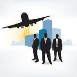 Équipe urbaine d'affaires illustration stock