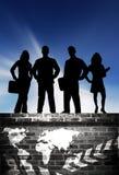Équipe urbaine d'affaires Photographie stock libre de droits
