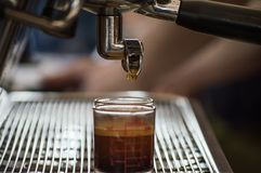 Équipement à café Le meilleurs café et thé chez Singh Park Chian Rai, Thaïlande photos libres de droits
