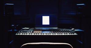 Équipement à la maison de studio Photos libres de droits