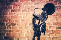 Équipement audio de enregistrement images libres de droits