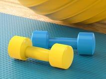 Équipement coloré Images stock