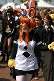 Équipement cosplay étonnant Images libres de droits