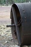 Équipement désuet de ferme à la ferme, livre de Wilpena, SA, Australie image stock