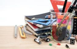 Équipement d'éducation de TIGE, la Science, technologie, ingénierie, mathématiques images stock