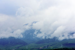 Équipement d'alimentation sur le plateau du Qinghai Thibet Photo stock