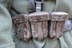 Équipement d'Allemand de la guerre mondiale 2 Photo stock