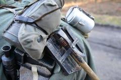 Équipement d'Allemand de la guerre mondiale 2 Photo libre de droits