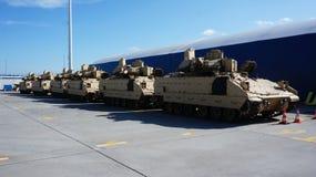 Équipement d'Américains dans le port de Gdynia image stock