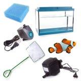 Équipement d'aquarium Photos libres de droits