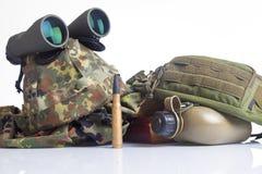 Équipement d'armée Image stock