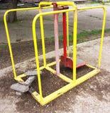 Équipement d'exercice en parc public Photographie stock libre de droits