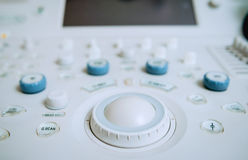 Équipement d'ultrason diagnose photos stock