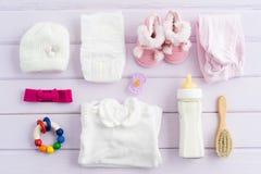 Équipement de bébé Photo stock