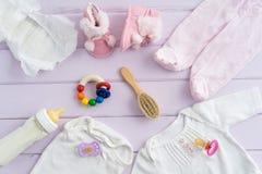 Équipement de bébé Photographie stock