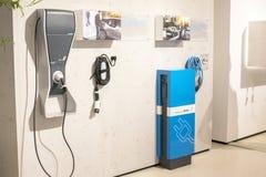 Équipement de chargement de véhicule électrique de BMW Photos stock