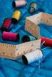 Équipement de couture Photographie stock libre de droits