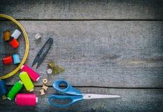 Équipement de couture, outils Photo libre de droits