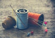 Équipement de couture, outils Image libre de droits
