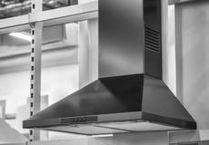 Équipement de cuisine - capot pour la purification d'air Images stock