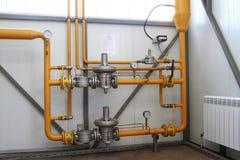Équipement de gaz Images stock