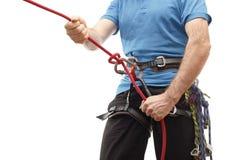 Équipement de grimpeur Image stock