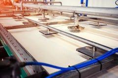 Équipement de la technologie pour faire l'amidon, le nettoyage et le proc Image stock