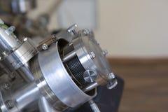Équipement de laboratoire pour des expériences scientifiques Fond industriel abstrait image libre de droits