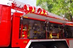 Équipement de lutte contre l'incendie images stock