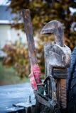 Équipement de mécanicien Photographie stock libre de droits