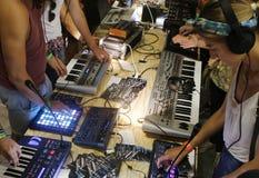 Équipement 026 de musique Photographie stock libre de droits