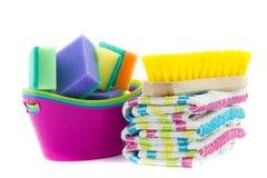 Équipement de nettoyage Image stock