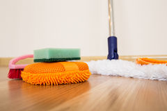 Équipement de nettoyage Photos stock