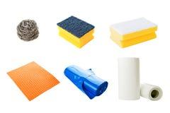 Équipement de nettoyage de cuisine photographie stock