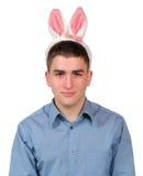 équipement de Pâques de 6 lapins Images stock