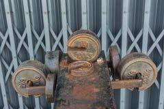 Équipement de pesage Photographie stock libre de droits