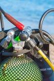 Équipement de plongée Photographie stock libre de droits