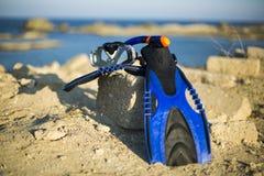 Équipement de plongée Photo stock